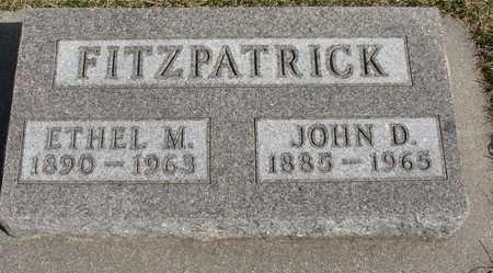 FITZPATRICK, JOHN D. & ETHEL M. - Woodbury County, Iowa | JOHN D. & ETHEL M. FITZPATRICK