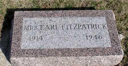 FITZPATRICK, MRS. EARL - Woodbury County, Iowa | MRS. EARL FITZPATRICK