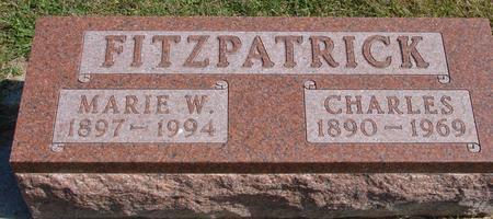 FITZPATRICK, MARIE & CHARLES - Woodbury County, Iowa | MARIE & CHARLES FITZPATRICK