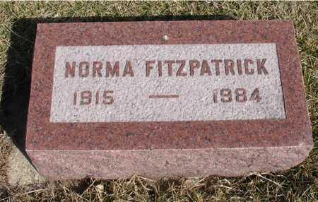 FITZPATRICK, NORMA - Woodbury County, Iowa | NORMA FITZPATRICK