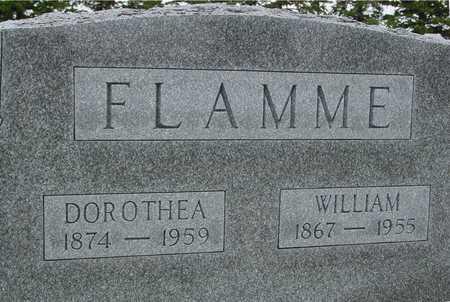 FLAMME, WILLIAM & DOROTHEA - Woodbury County, Iowa   WILLIAM & DOROTHEA FLAMME