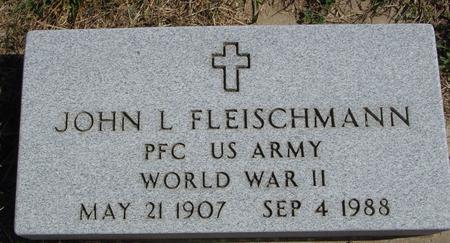 FLEISCHMANN, JOHN L. - Woodbury County, Iowa | JOHN L. FLEISCHMANN