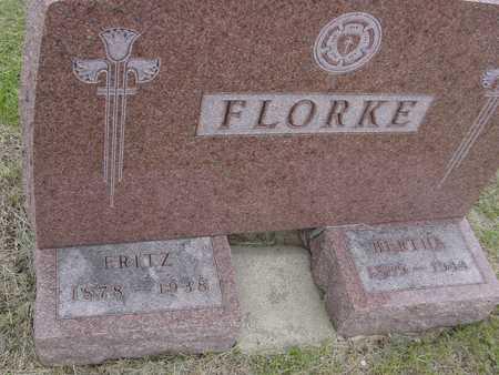 FLORKE, FRITZ & BERTHA - Woodbury County, Iowa   FRITZ & BERTHA FLORKE