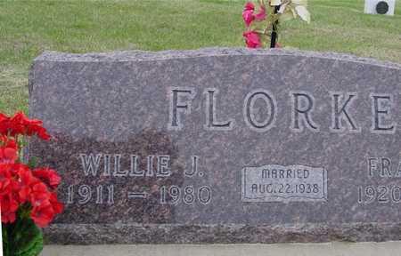 FLORKE, WILLIE J. - Woodbury County, Iowa | WILLIE J. FLORKE