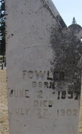FOWLER, ALICE - Woodbury County, Iowa | ALICE FOWLER
