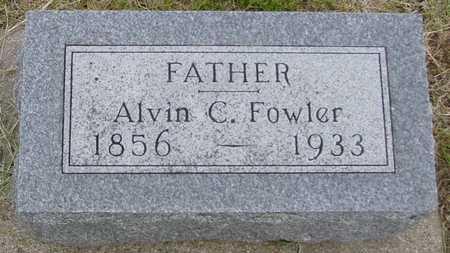 FOWLER, ALVIN C. - Woodbury County, Iowa   ALVIN C. FOWLER