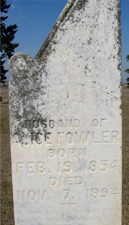 FOWLER, J. O. - Woodbury County, Iowa   J. O. FOWLER
