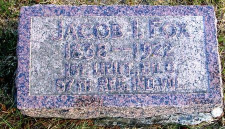 FOX, JACOB I. - Woodbury County, Iowa | JACOB I. FOX