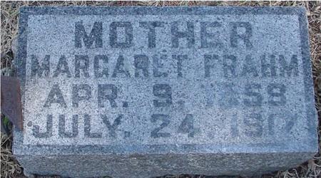 FRAHM, MARGARET - Woodbury County, Iowa | MARGARET FRAHM
