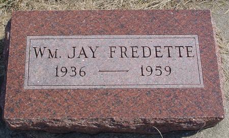 FREDETTE, WILLIAM JAY - Woodbury County, Iowa | WILLIAM JAY FREDETTE