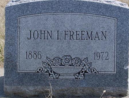 FREEMAN, JOHN I. - Woodbury County, Iowa | JOHN I. FREEMAN