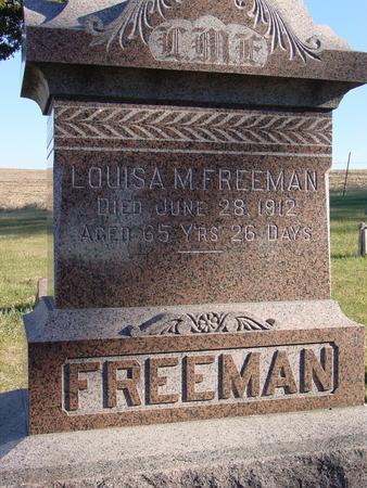 FREEMAN, LOUISA M. - Woodbury County, Iowa | LOUISA M. FREEMAN