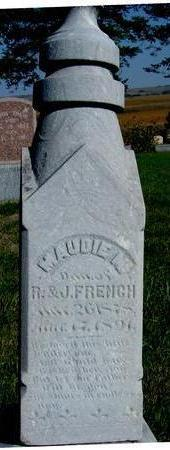 FRENCH, MAUDIE M. - Woodbury County, Iowa   MAUDIE M. FRENCH