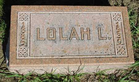 FRENTRESS, LOLAH L. - Woodbury County, Iowa | LOLAH L. FRENTRESS