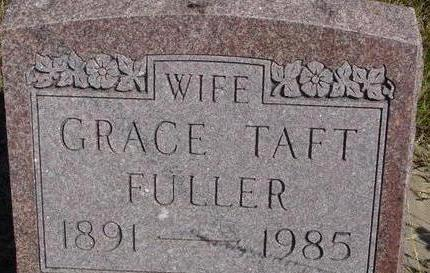 FULLER, GRACE - Woodbury County, Iowa | GRACE FULLER