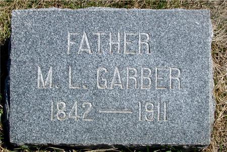 GARBER, M. L. - Woodbury County, Iowa | M. L. GARBER