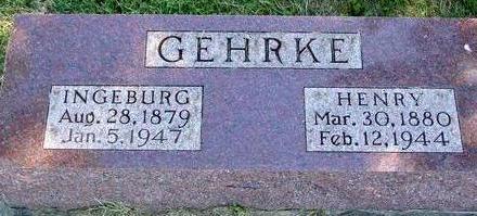 GEHRKE, HENRY & INGEBURG - Woodbury County, Iowa | HENRY & INGEBURG GEHRKE