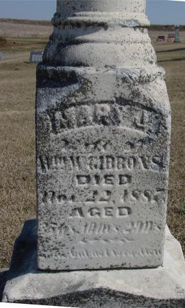 GIBBONS, MARY J. - Woodbury County, Iowa | MARY J. GIBBONS