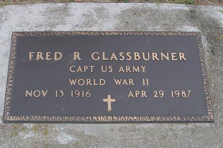 GLASSBURNER, FRED R. - Woodbury County, Iowa   FRED R. GLASSBURNER