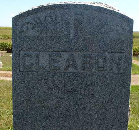 GLEASON, FAMILY MARKER - Woodbury County, Iowa | FAMILY MARKER GLEASON