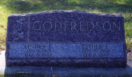 GODFREDSON, LUTHER - Woodbury County, Iowa | LUTHER GODFREDSON