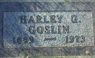 GOSLIN, HARLEY - Woodbury County, Iowa | HARLEY GOSLIN