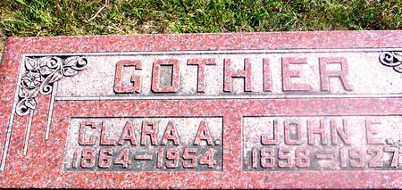 GOTHIER, JOHN & CLARA - Woodbury County, Iowa | JOHN & CLARA GOTHIER