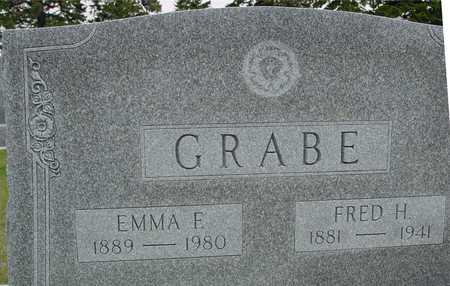 GRABE, FRED H. & EMMA F. - Woodbury County, Iowa | FRED H. & EMMA F. GRABE