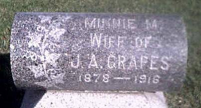 GRAPES, MINNIE M. - Woodbury County, Iowa | MINNIE M. GRAPES