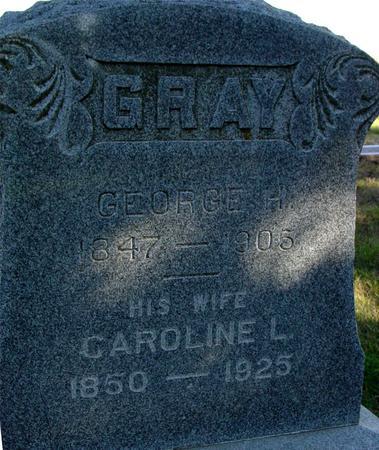 GRAY, GEORGE & CAROLINE - Woodbury County, Iowa | GEORGE & CAROLINE GRAY