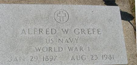 GREFE, ALFRED  W. - Woodbury County, Iowa   ALFRED  W. GREFE