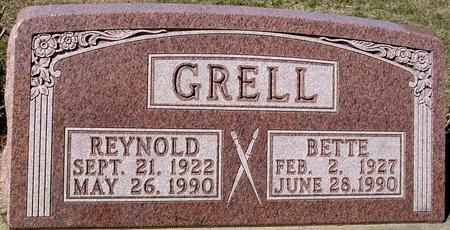GRELL, REYNOLD & BETTE - Woodbury County, Iowa | REYNOLD & BETTE GRELL