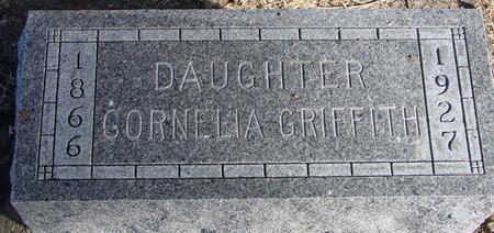 GRIFFITH, CORNELIA - Woodbury County, Iowa | CORNELIA GRIFFITH