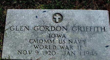 GRIFFITH, GLEN GORDON - Woodbury County, Iowa | GLEN GORDON GRIFFITH