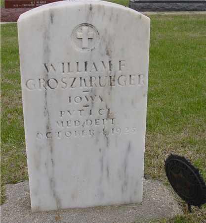 GROSZKRUEGER, WILLIAM F. - Woodbury County, Iowa | WILLIAM F. GROSZKRUEGER