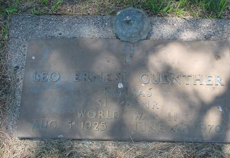 GUENTHER, LEO ERNEST - Woodbury County, Iowa | LEO ERNEST GUENTHER