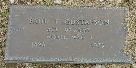 GUSTAFSON, PAUL F. - Woodbury County, Iowa   PAUL F. GUSTAFSON
