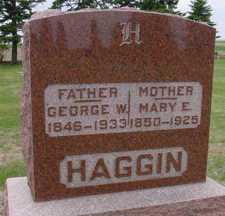 HAGGIN, GEORGE & MARY E. - Woodbury County, Iowa   GEORGE & MARY E. HAGGIN