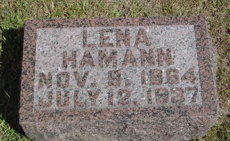 HAMANN, LENA - Woodbury County, Iowa | LENA HAMANN