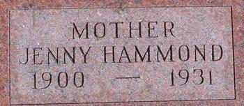 HAMMOND, JENNY - Woodbury County, Iowa | JENNY HAMMOND