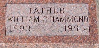 HAMMOND, WILLIAM C. - Woodbury County, Iowa   WILLIAM C. HAMMOND