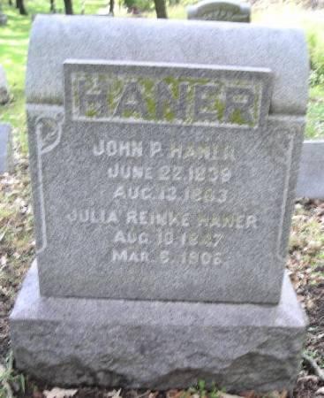 HANER, JULIA - Woodbury County, Iowa | JULIA HANER