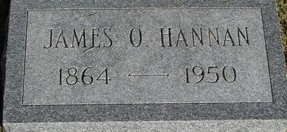 HANNAN, JAMES O. - Woodbury County, Iowa | JAMES O. HANNAN