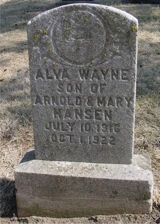 HANSEN, ALVA WAYNE - Woodbury County, Iowa | ALVA WAYNE HANSEN