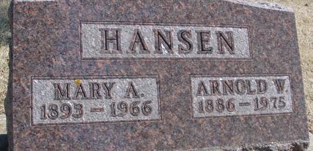 HANSEN, ARNOLD & MARY - Woodbury County, Iowa | ARNOLD & MARY HANSEN