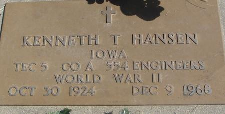 HANSEN, KENNETH T. - Woodbury County, Iowa | KENNETH T. HANSEN