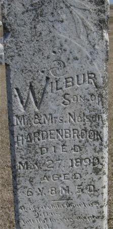 HARDENBROOK, WILBUR - Woodbury County, Iowa   WILBUR HARDENBROOK