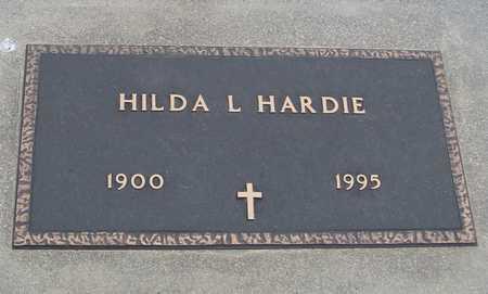 HARDIE, HILDA L. - Woodbury County, Iowa   HILDA L. HARDIE