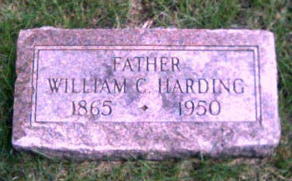HARDING, WILLIAM C. - Woodbury County, Iowa   WILLIAM C. HARDING