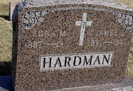 HARDMAN, JAMES D. & EDNA - Woodbury County, Iowa | JAMES D. & EDNA HARDMAN